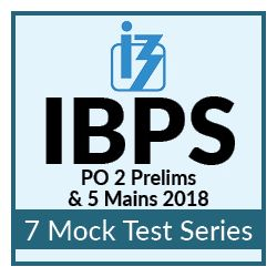 7 Online Mock Test Series for IBPS PO Prelims and Mains 2018