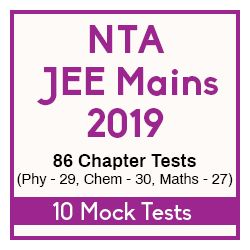 NTA JEE Main 2019 Success Test Series Package - 86 Chapter Tests & 10 Mock Tests