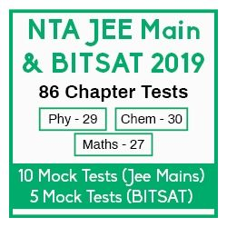 NTA JEE Main & BITSAT 2019 Success Test Series Package - 86 Chapter Tests , 10 Mock Tests (Jee Main) and 5 Mock Tests (BITSAT)