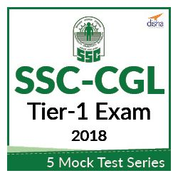 5 Mock Test Series for SSC CGL Tier-1 Exam 2018