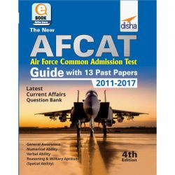 The new AFCAT Guide with 13 past papers (2011 - 2017) - 4th Edition eBook