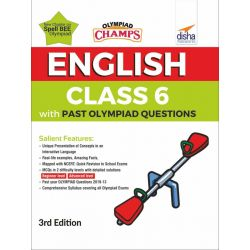 Olympiad Champs English Class 6 with Past Olympiad Questions 3rd Edition