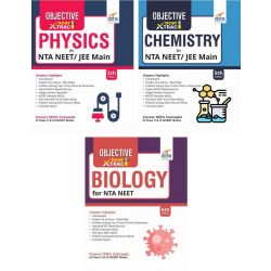 Objective NCERT Xtract Physics, Chemistry, Biology for NEET 5th Edition