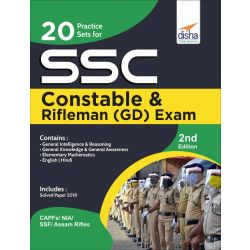 """20 Practice Sets for SSC Constable & Rifleman (GD) Exam 2nd Edition  """