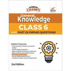 Olympiad Champs General Knowledge Class 6 with Past Olympiad Questions 2nd Edition