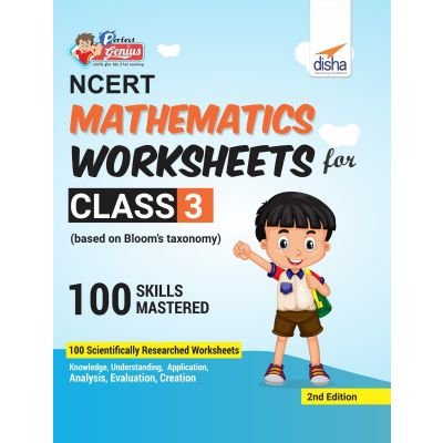 Perfect Genius NCERT Mathematics Worksheets for Class 3 (based on Bloom's taxonomy) 2nd Edition